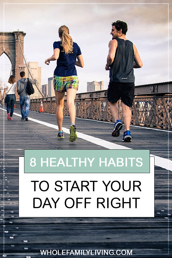 Your morning routine can either help or hinder your efforts to be healthy. Developing healthy habits to start your day will help you incorporate gradual changes and make these routines automatic over time. Learn the morning habits that can help you develop a healthy lifestyle. #healthyliving #morningroutine #healthyhabits
