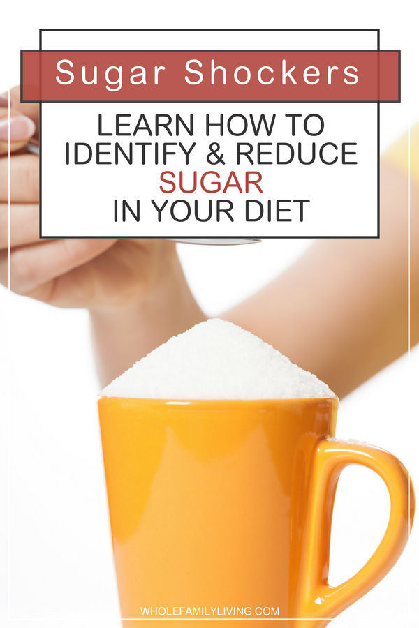 Sugar is lurking everywhere, even in products that don\'t need to have sugar added! Can you spot sugar? Learn how to identify and reduce sugar in your diet.