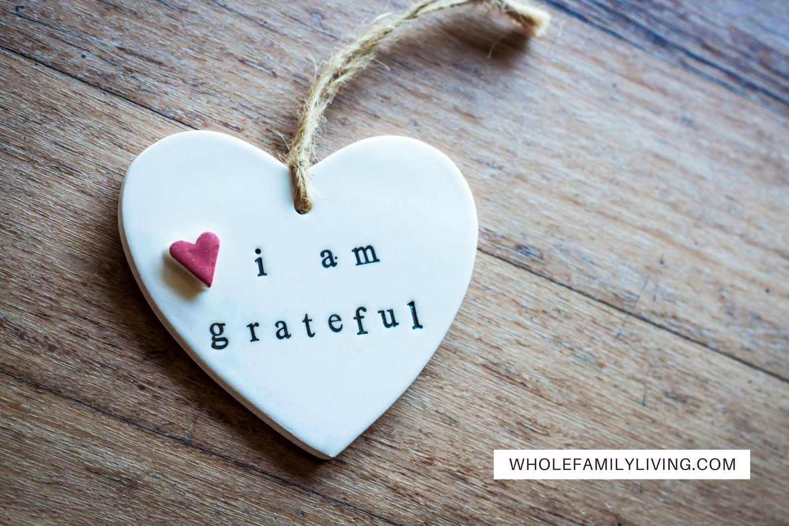 WFL Blog Post Gratitude is the key ingredient for good health