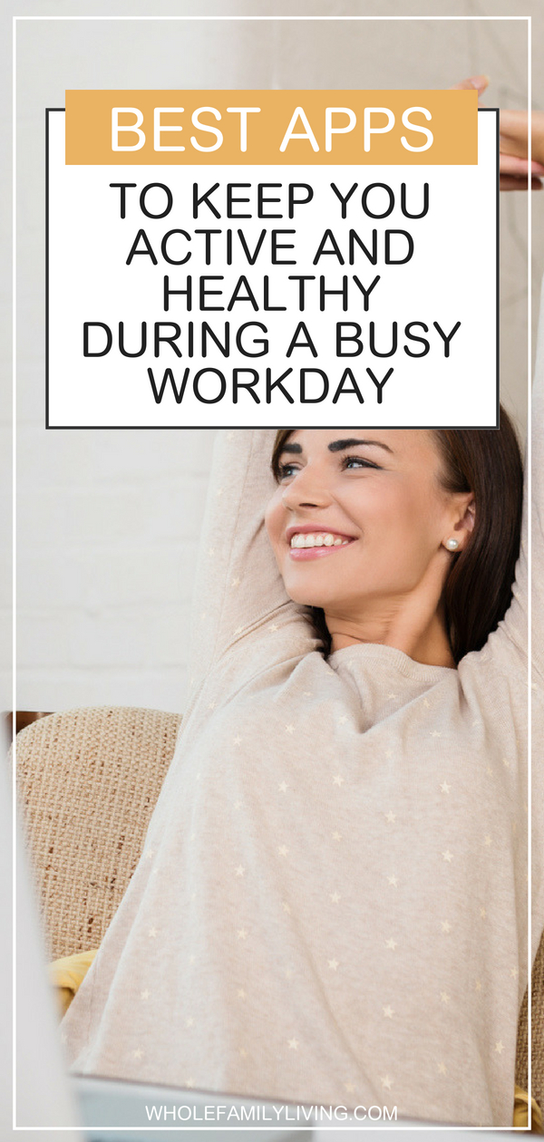 Should you be moving more throughout the day? Well, maybe. Being sedentary has become a health crisis, especially at work where we sometimes barely move all day. Use these apps to remind yourself to be active and move more to stay healthy at work. #getactive #healthy #movemore #healthyhabits