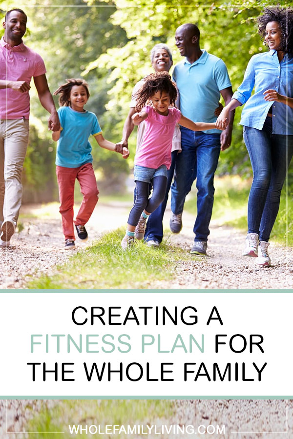 Have you ever thought about creating a fitness plan for the whole family? It's easier than you think. #familyfitness #fitness #family #families #healthyhabits #outdooractivities