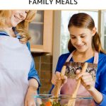 Creating Healthy, Budget-friendly Meals for the Whole Family - Whole Family Living. Mother and daughter preparing a healthy meal in the kitchen.