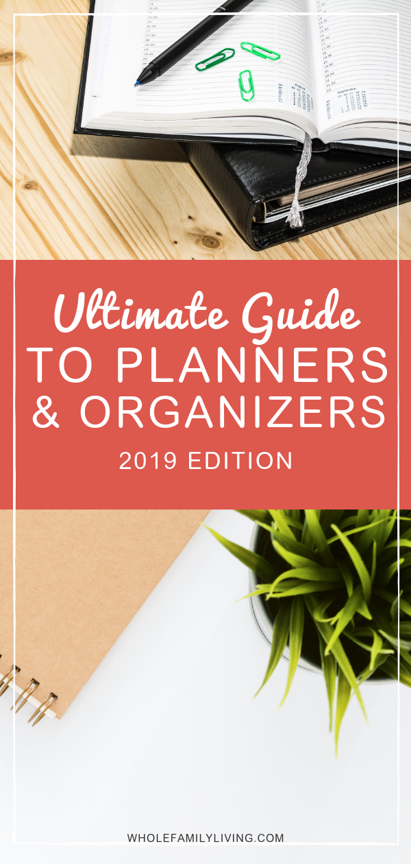 Ultimate Guide: Choosing the Perfect Planner Whole Family Living