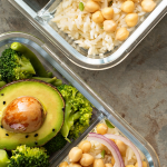 Food prepped into containers. Smart Tips for Easy Meal Planning - Whole Family Living
