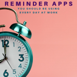 Alarm clock. Best Apps to Help You Move More at Work - Whole Family Living