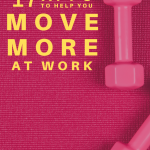 Two dumbbels laying on a workoutmat. Best Apps to Help You Move More at Work - Whole Family Living