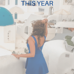 Young woman overlooking a city from a balcony. 7 Steps to Conquer Your Goals This Year (Without Resolutions) - Whole Family Living