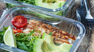 Meal prepped food in containers. How to Start Meal Prepping - The Easy Beginner's Guide - Whole Family Living