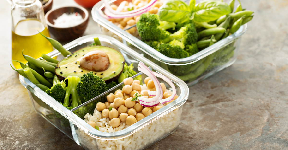 Easy to pack lunch for people who work from home. Whole Family Living