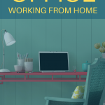 Neat home office workstation. Stay Healthy While Working From Home - Whole Family Living
