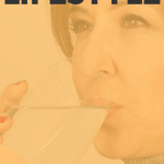 Woman drinking a glass of water. Lifestyle changes. How to Start a Healthy Lifestyle - Whole Family Living