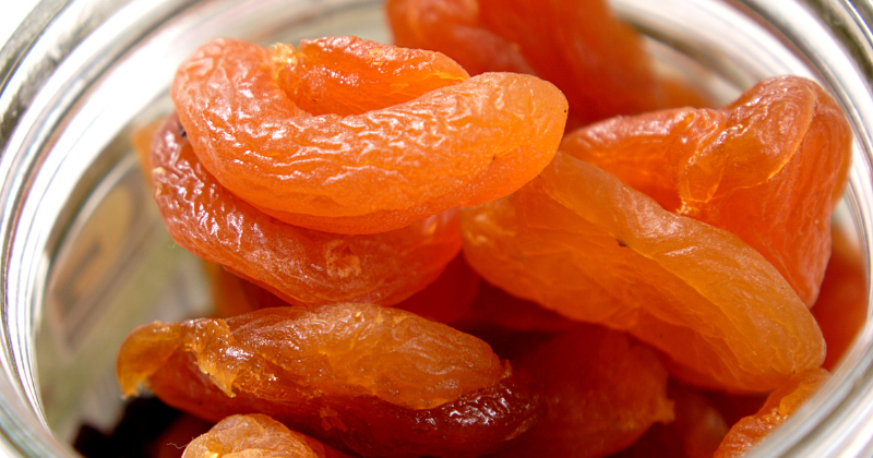 Fried apricots, dried fruit in glass storage jar. How to Stock a Healthy Pantry - Whole Family Living