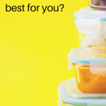 Food items in airtight glass containers. Non-toxic Food Storage: How to Replace Plastic Containers - Whole Family Living