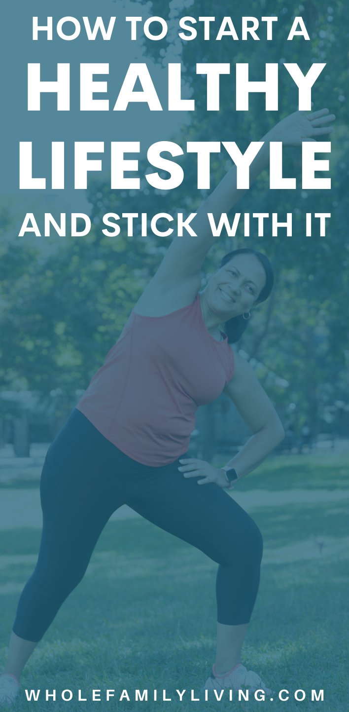 Woman exercising in the part. Start a Healthy Lifestyle and Stick With It   Activity   Fitness   Healthy Eating